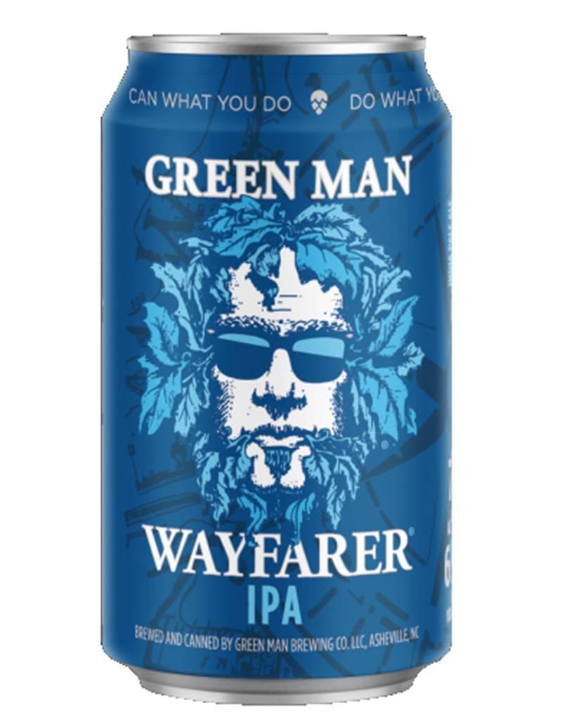 Green Man Wayfarer IPA Beer, 6pk Cans