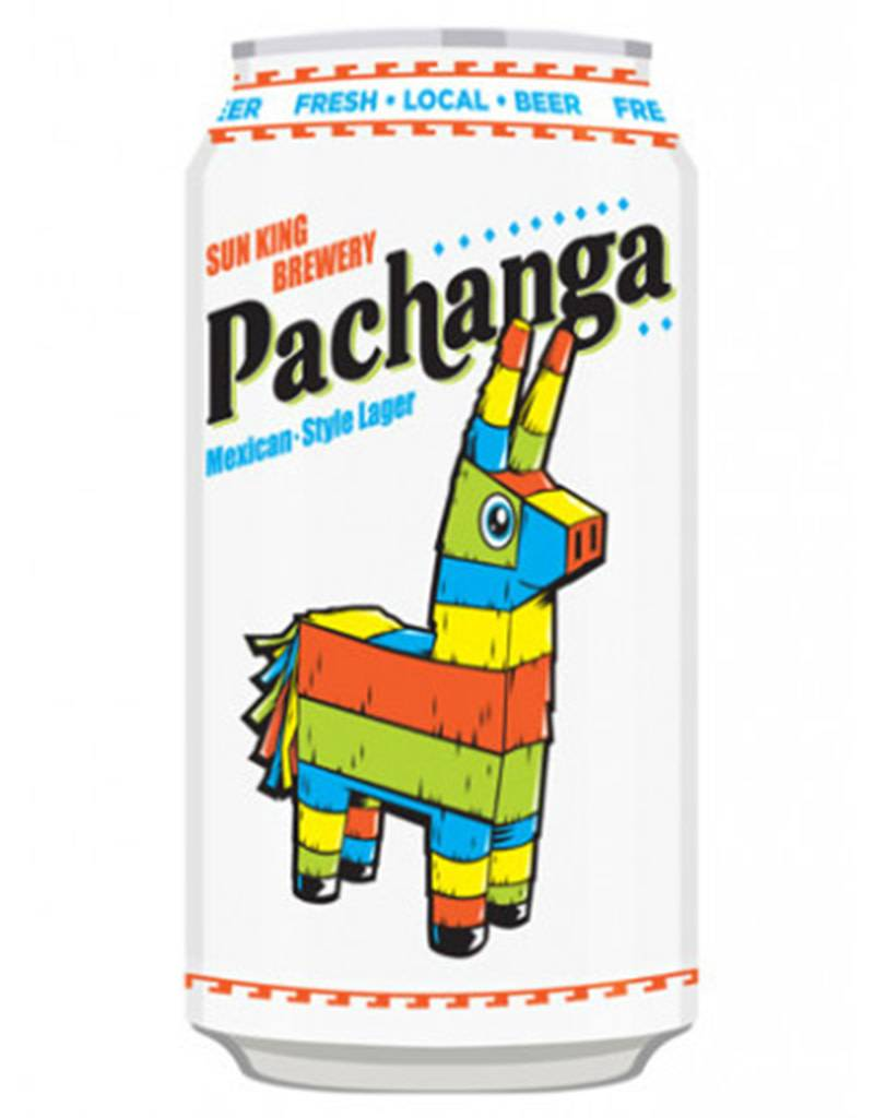 Sun King Pachanga Mexican Style Lager Beer, 6pk Cans