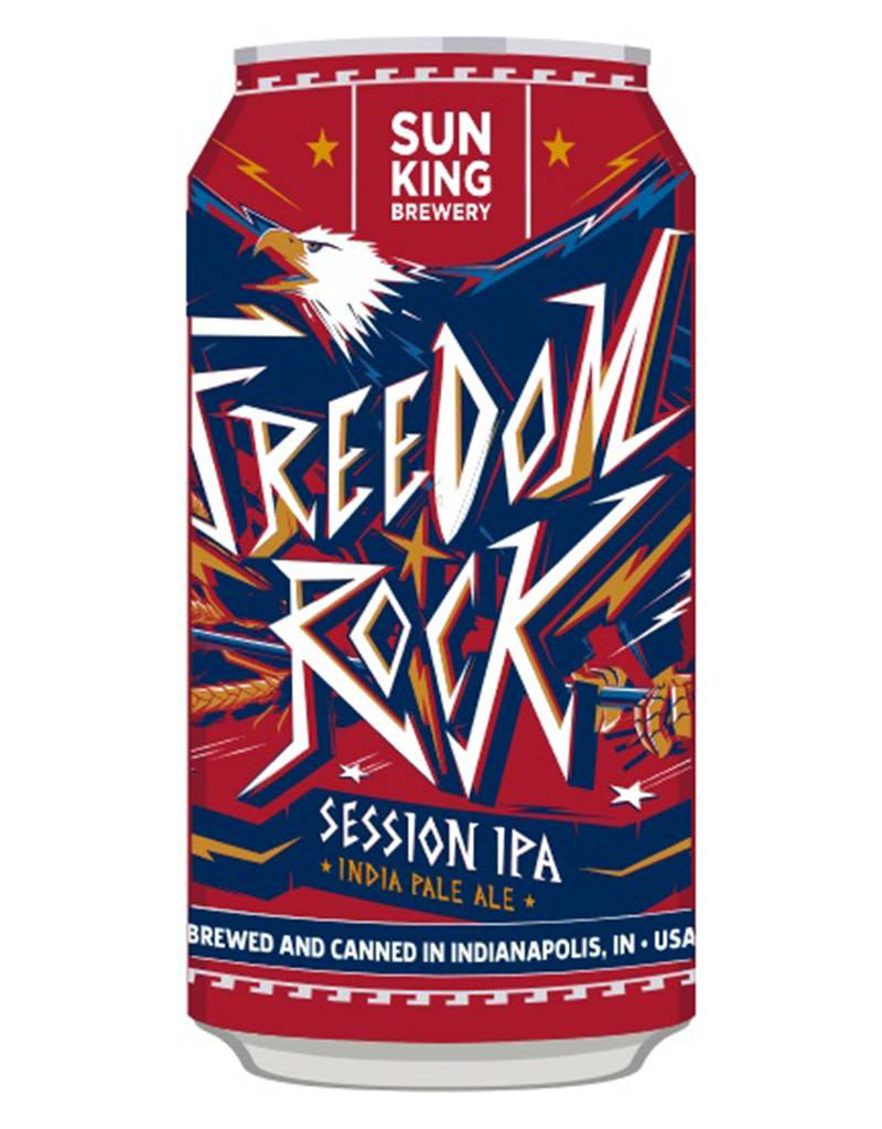 Sun King Freedom Rock Session IPA Beer, 6pk Cans