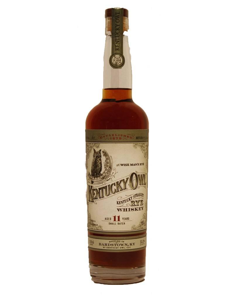 Kentucky Owl 11 Year Old Rye Whiskey