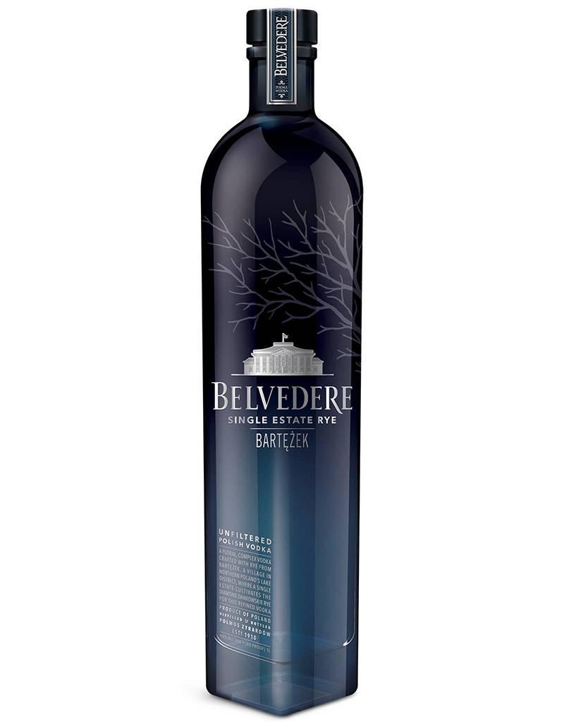 Belvedere Lake Bartężek Vodka, Single Estate Diamond Rye, Poland