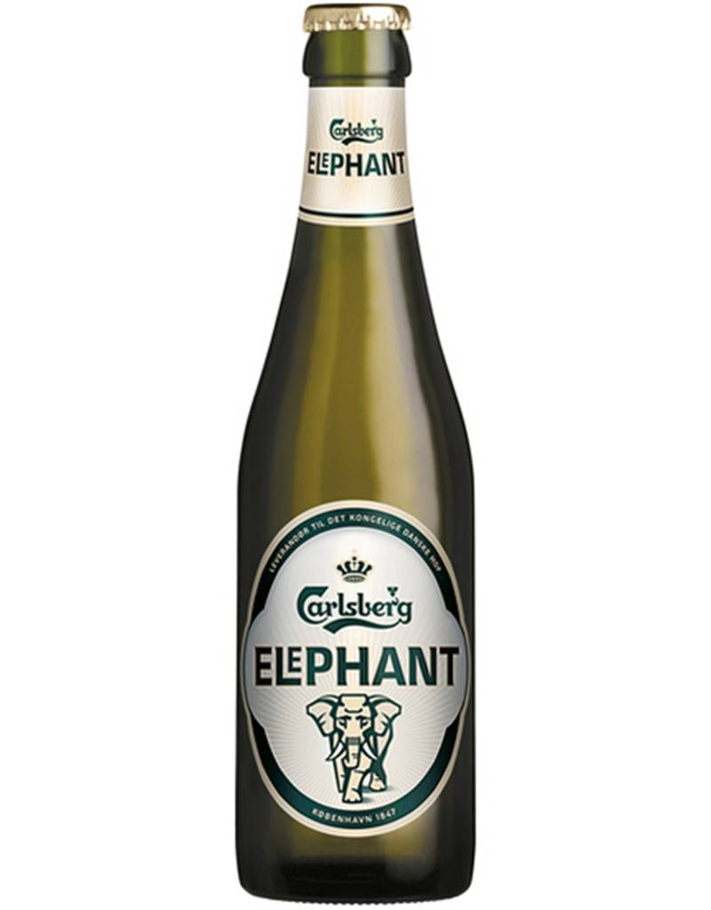 Carlsberg 'Elephant' Lager, 6pk Bottle