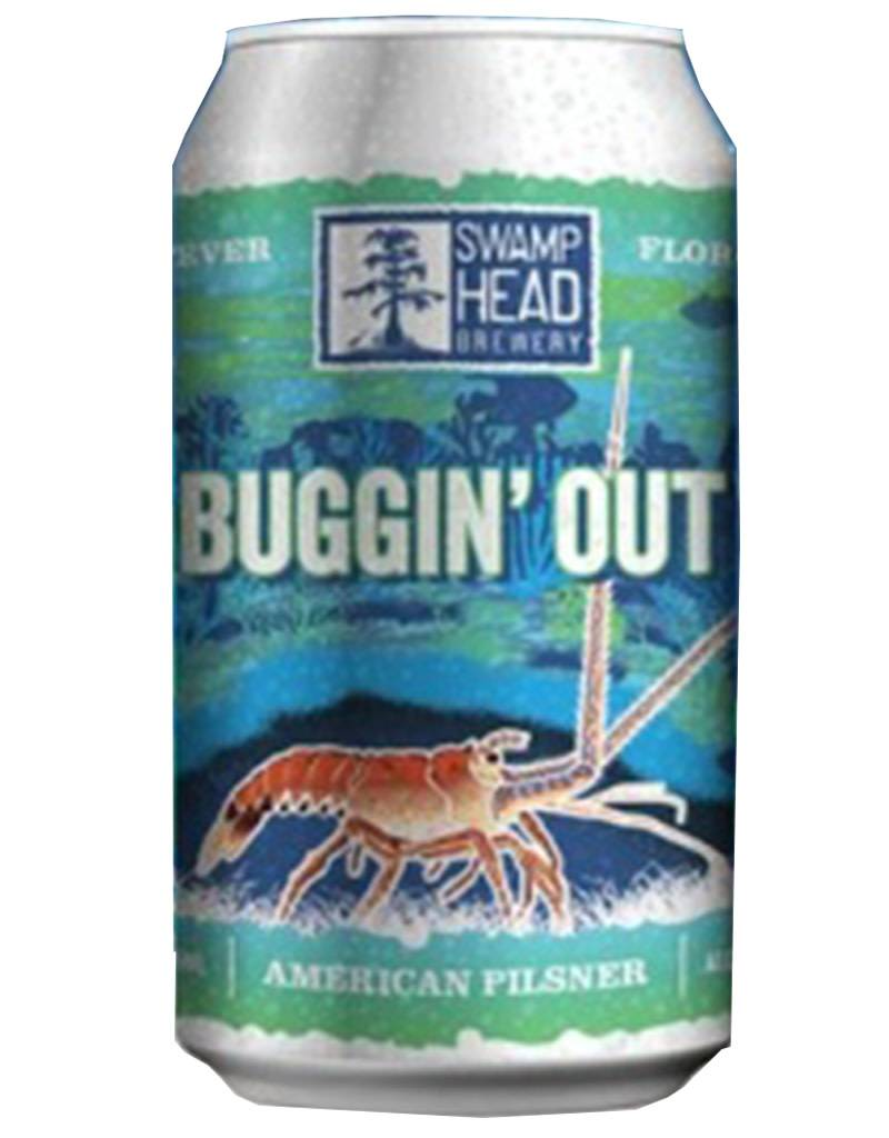 Swamp Head Brewery 'Buggin' Out' American Pilsner, 6pk Can