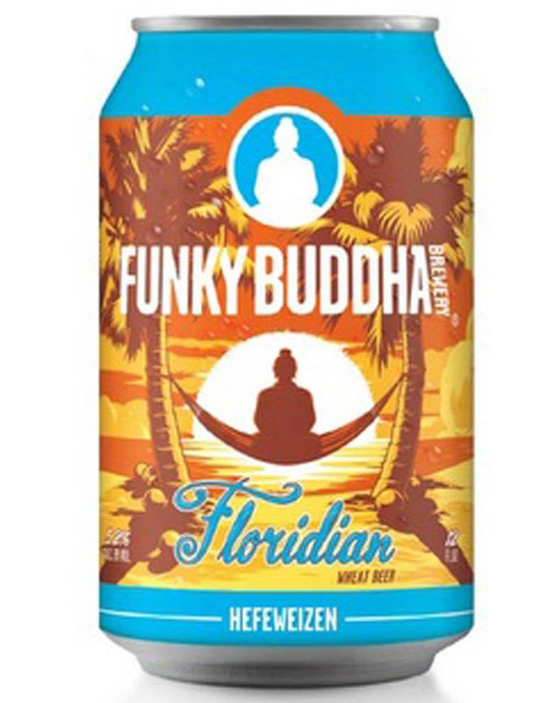 Funky Buddha Brewery Funky Buddha Brewery 'Floridian' Hefeweizen, 12pk Cans