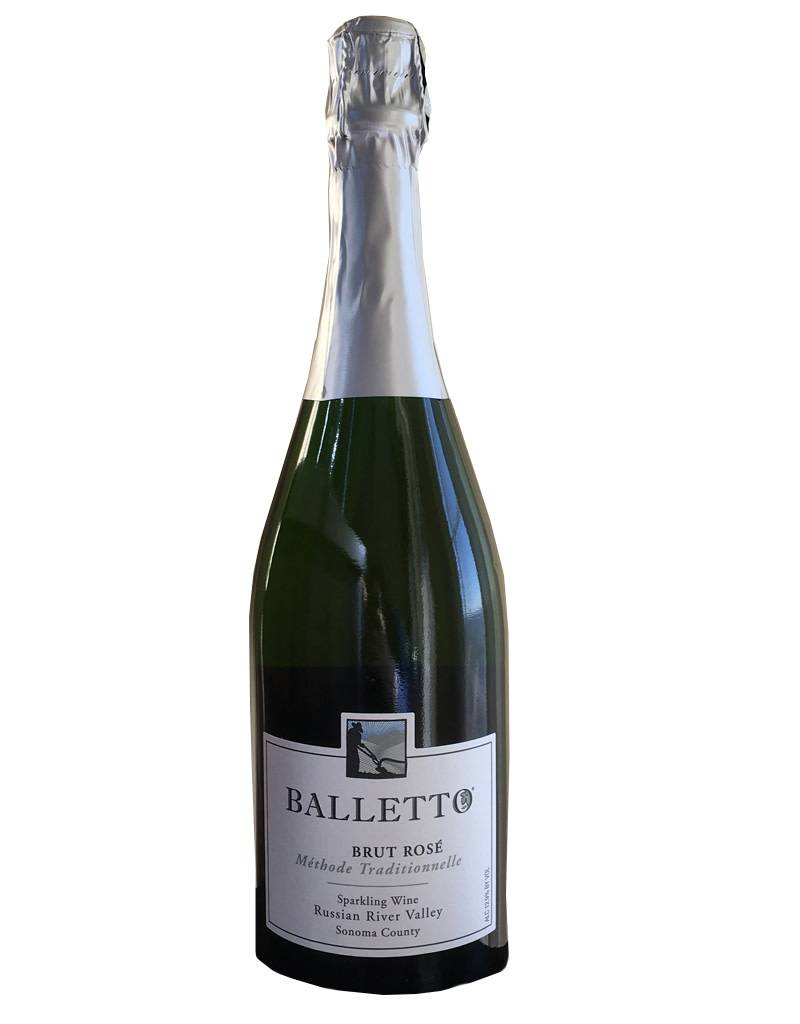 Balletto 2012 Brut Rose Sparkling Wine, Russian River Valley