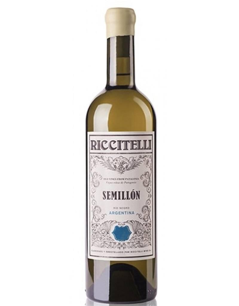 Matías Riccitelli 2017 Old Vine Semillón Río Negro, Argentina