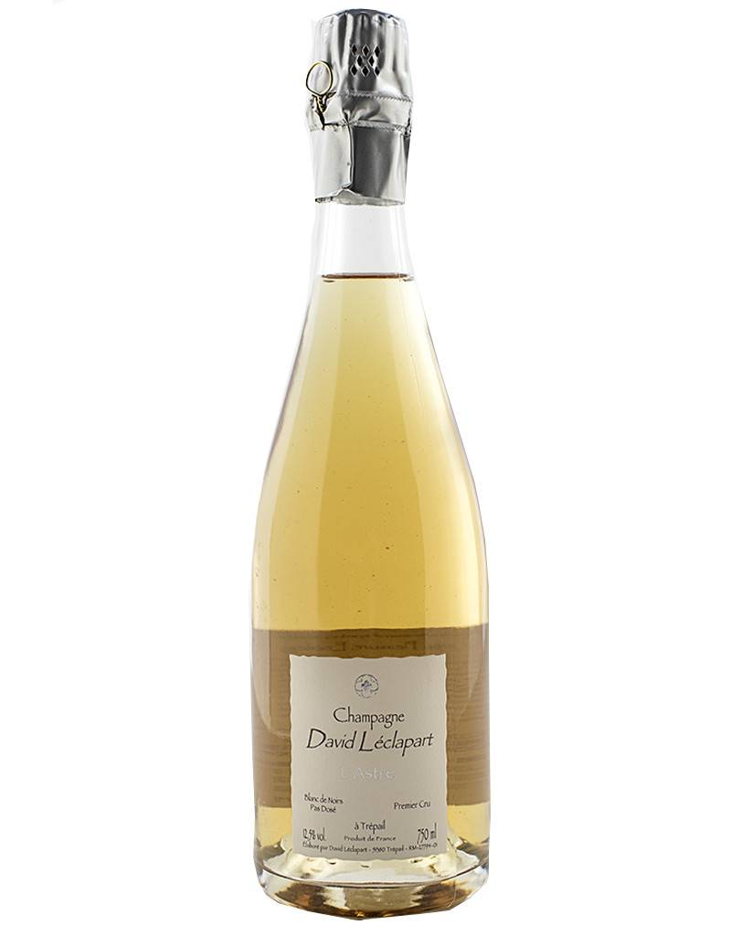 Champagne David Léclapart 2013 L'Astre, Blanc de Noir, Pas Dosé, Premier Cru, Champagne, France