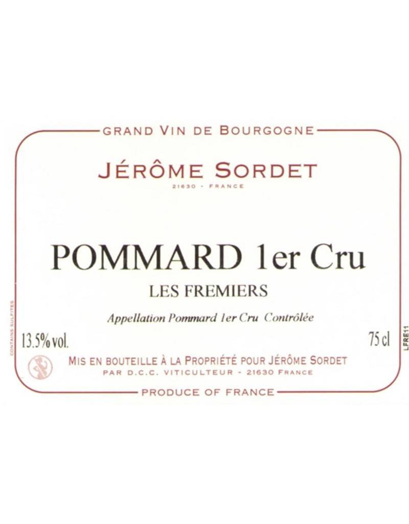 Domaine Jerome Sordet 2015 Les Fremiers Pommard 1er Cru, Burgundy, France