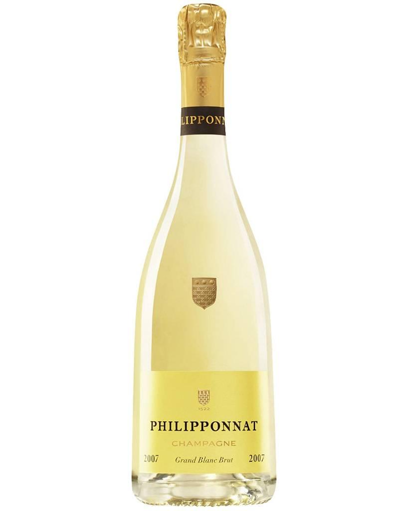 Champagne Philipponnat 2007 Grand Blanc Brut, 100% Chardonnay