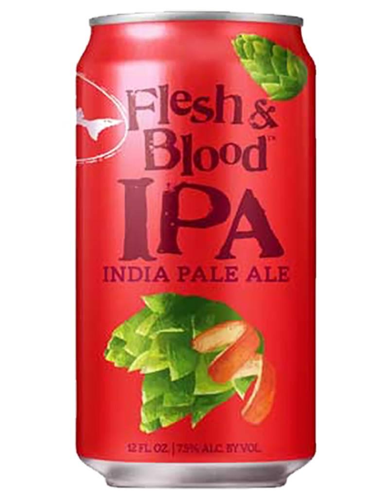 Dogfish 'Flesh and Blood' Blood Orange Ipa , 6pk