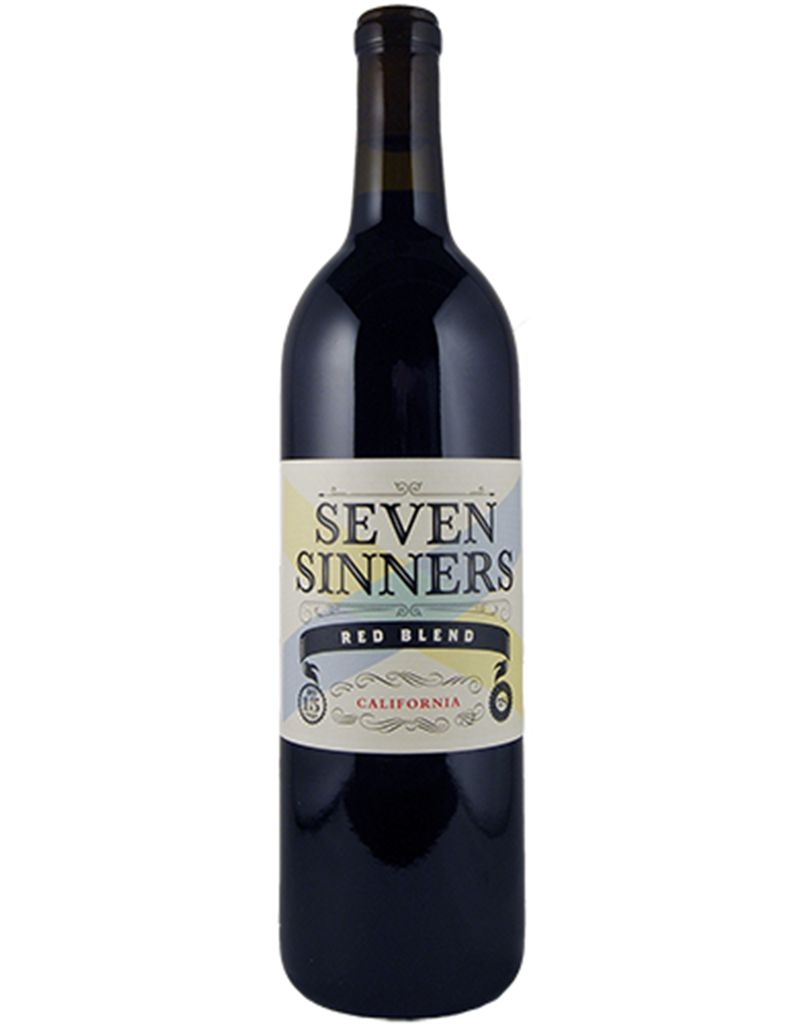 Seven Sinners 2015, Red Blend, California