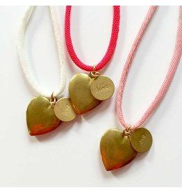 Atsuyo et Akiko Love necklace -A&A