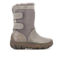 Pom d'Api Boots Piwi Chabraque grey plum