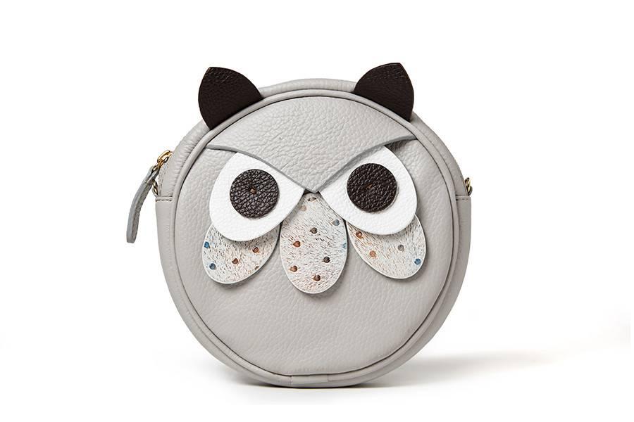 Sonatina Owl bag grey