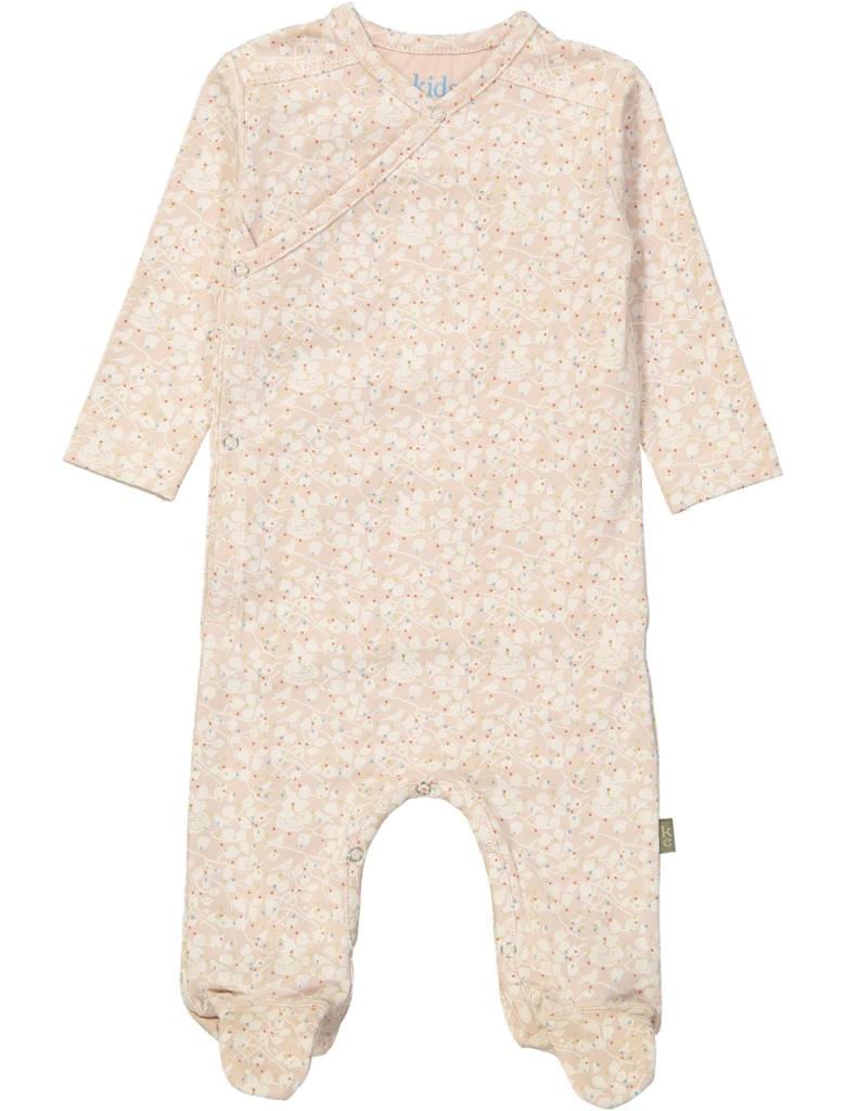 Kid Case Organic suit pink birdnest
