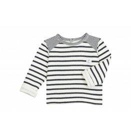 Petit Bateau Navy striped shirt-PB