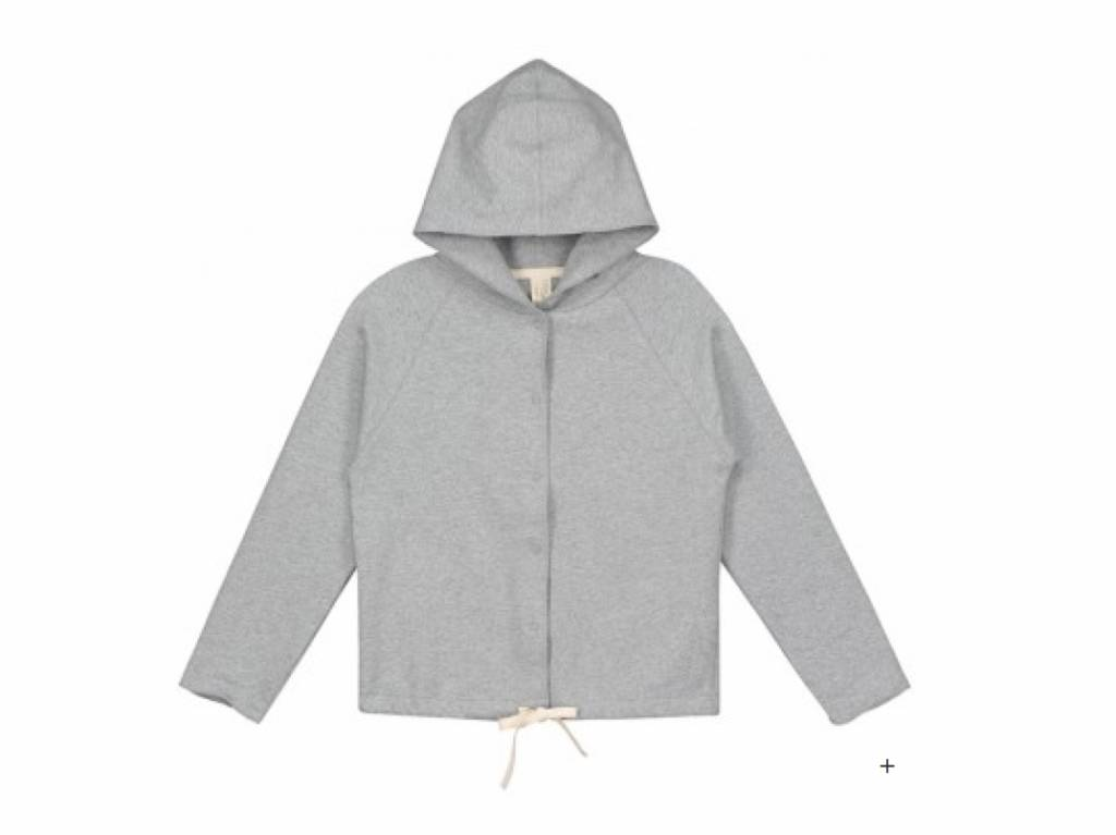 Gray Label Grey Hooded Cardigan