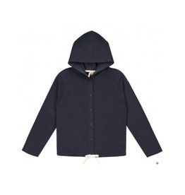 Gray Label Blue Hooded Cardigan