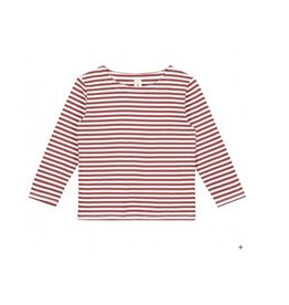 Gray Label Burgundy Stripe Tee