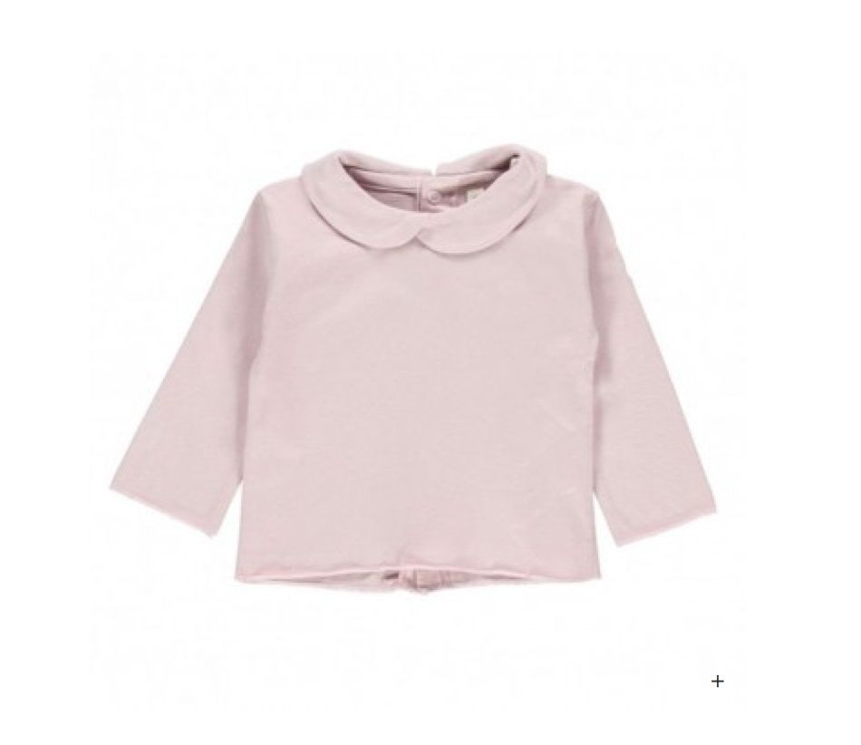 Gray Label Pink Baby Collar Tee
