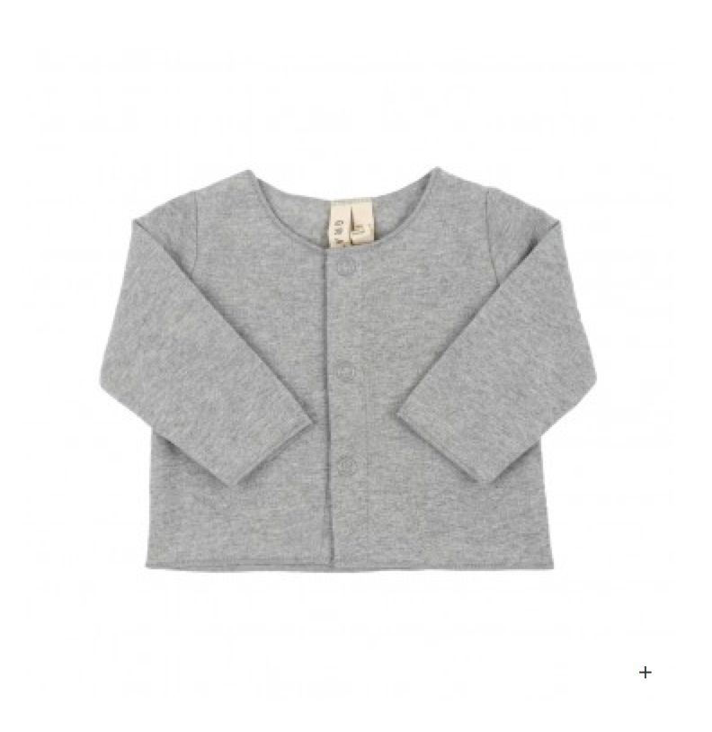 Gray Label Grey Baby Cardigan