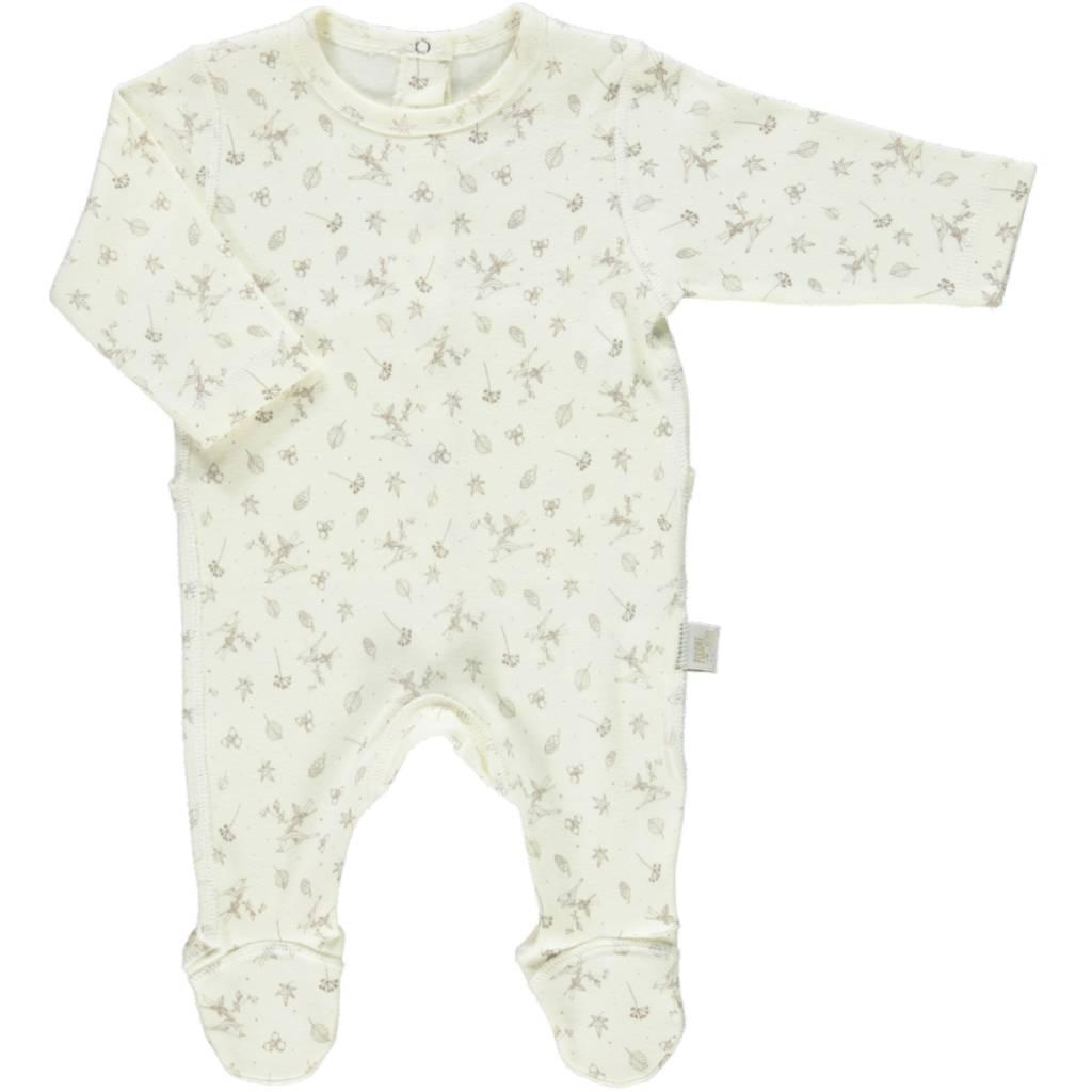 Poudre Organic Footed Pyjama Lait