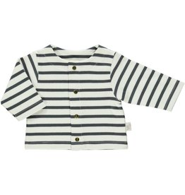 Poudre Organic Baby Striped Cardigan