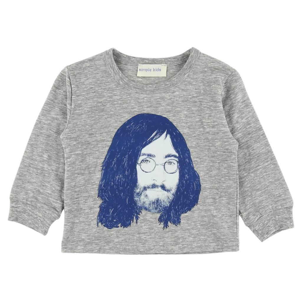 Simple Kids tee shirt lennon