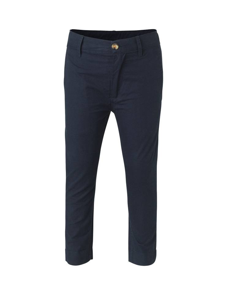 Mads Norgaard Navy Twill Pants