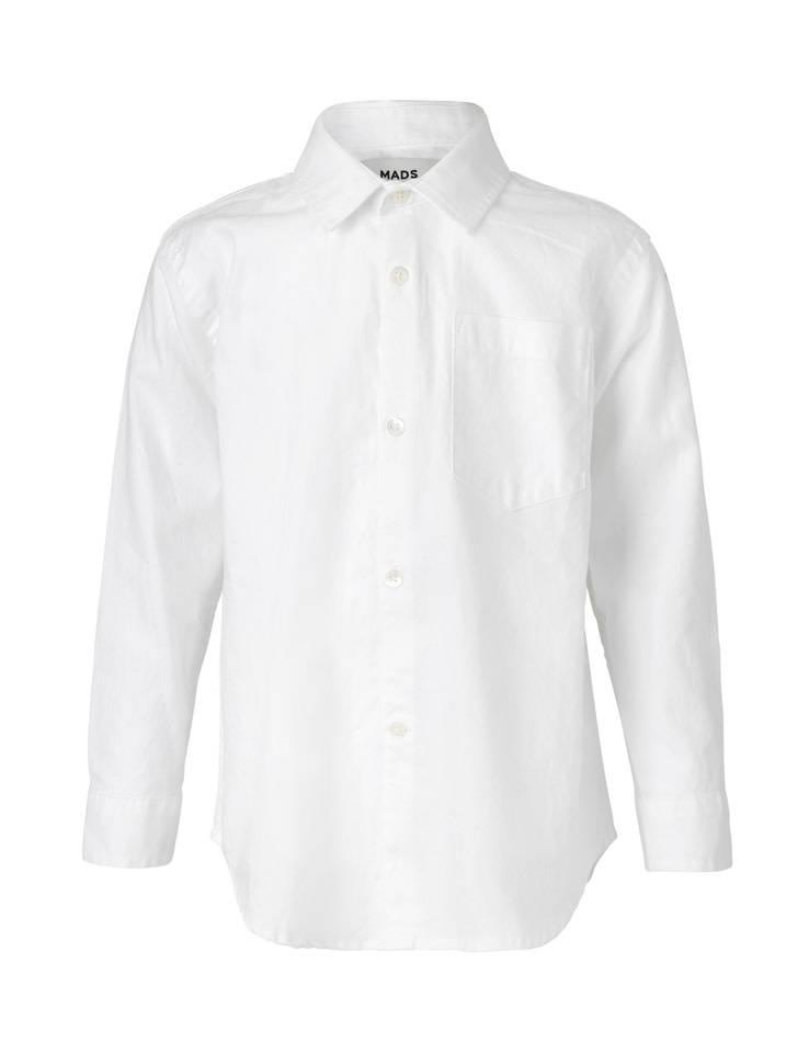 Mads Norgaard White Oxford Shirt