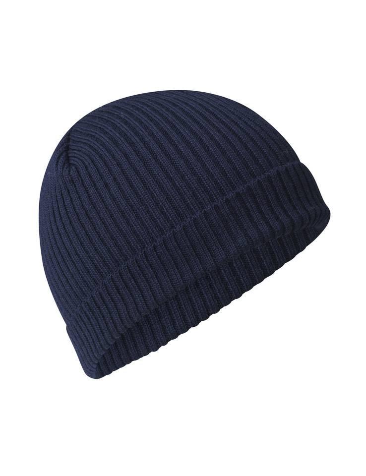 Mads Norgaard Navy Wool Hat