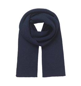 Mads Norgaard Navy Wool Scarf
