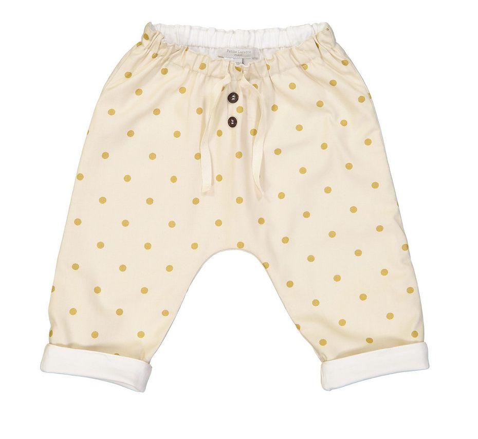 Petite Lucette Golden dots pants