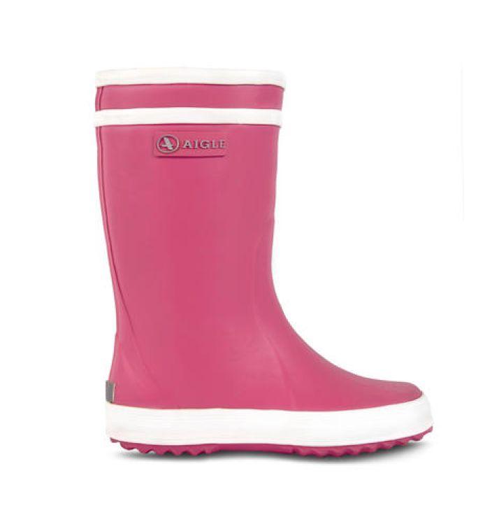 AIGLE Pink Rainboot