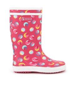 AIGLE Pink Birdy Rainboot