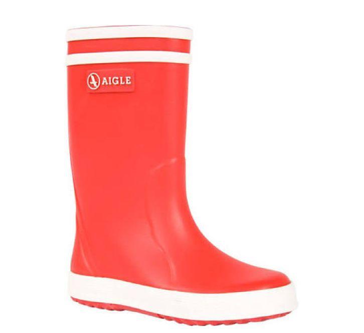 AIGLE Red Rainboot