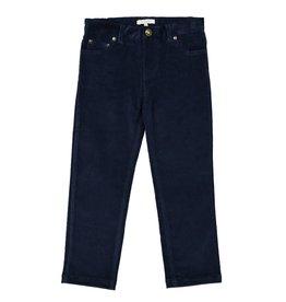 Petite Lucette Marine corduroy pants