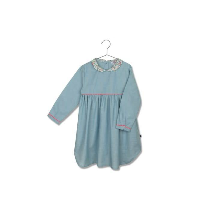 Jim Jam Blue floral nightgown