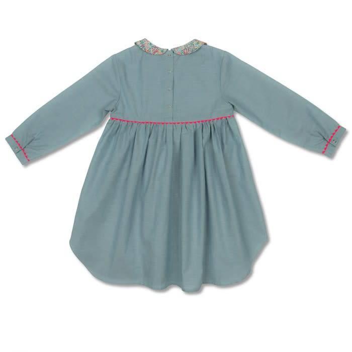 Jim Jam Blue floral nightgown