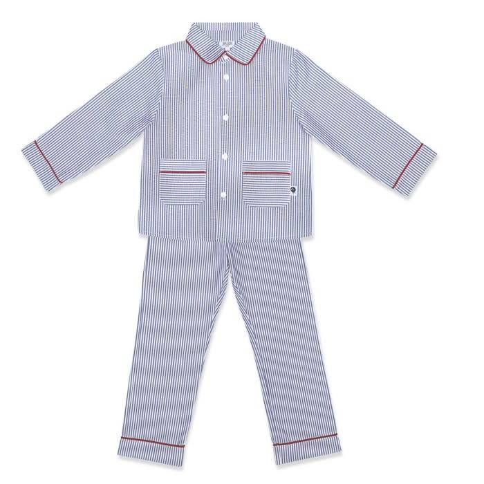 Jim Jam Blue stripe PJ set