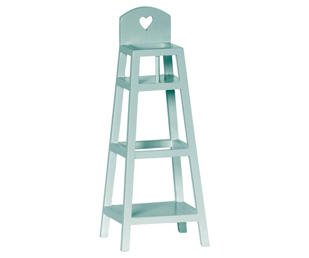 Maileg Blue High Chair