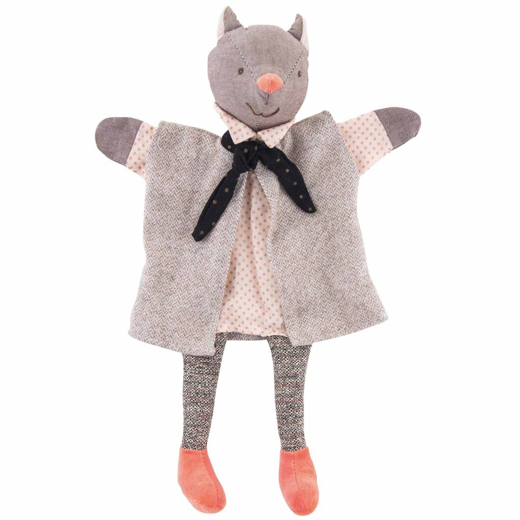 Moulin Roty Gallant Cat Puppet