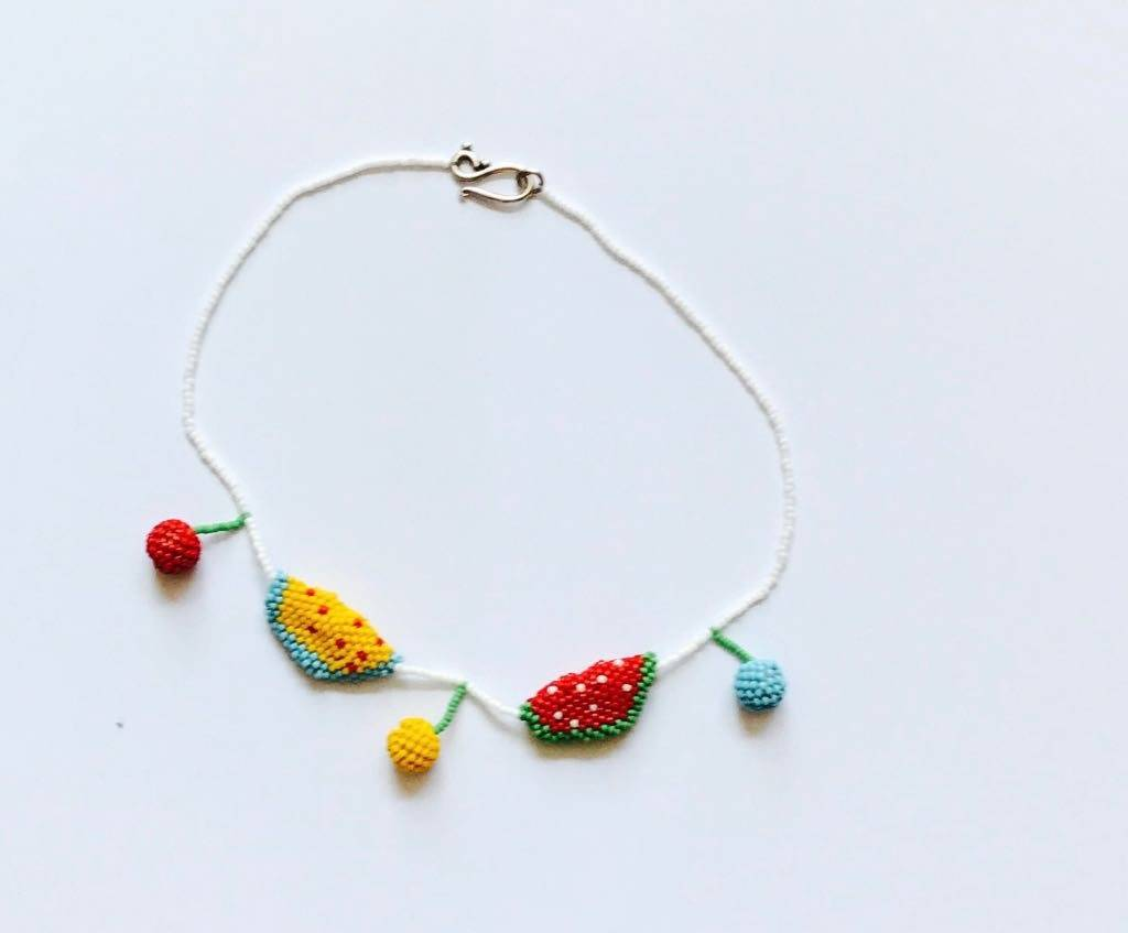 Mademoiselle à Soho Tutti frutti necklace