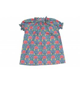 Mademoiselle à Soho Liberty dress + bloomer