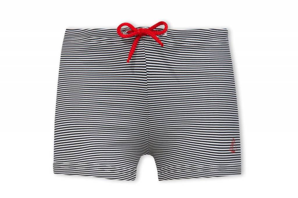Petit Bateau Striped Swim Trunks
