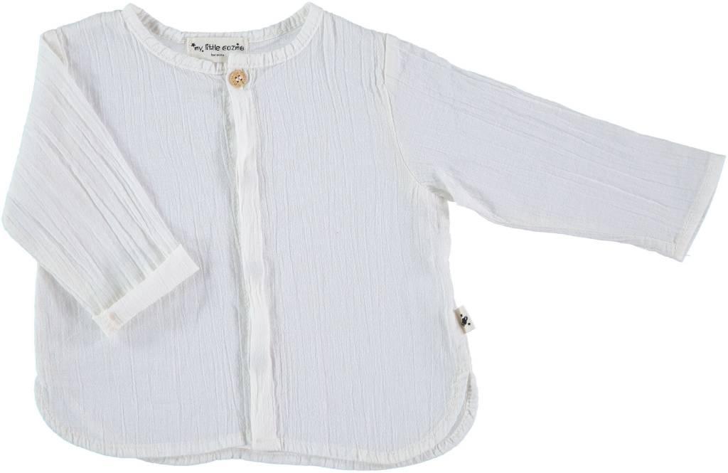 My Little Cozmo Santorini shirt Ivory
