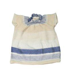 Mademoiselle à Soho Woven blue dress + bloomer