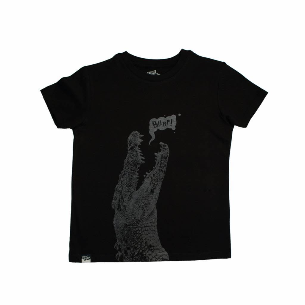Lion of leissure Croc black tee