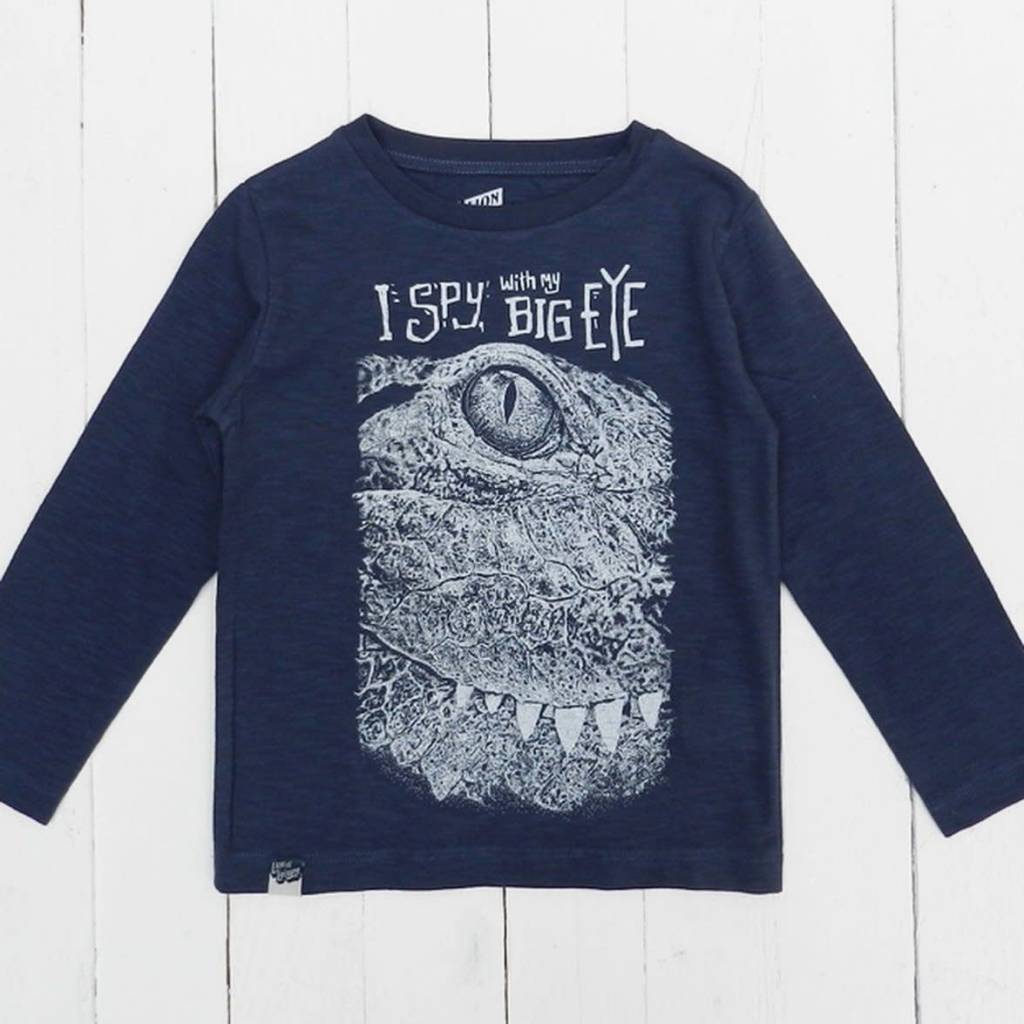 "Lion of leissure Croc ""I spy"" longsleeve"