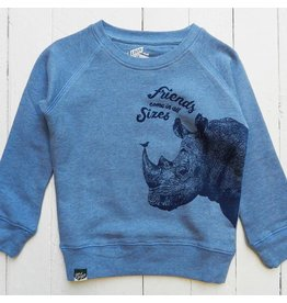 Lion of leissure Rhino sweatshirt